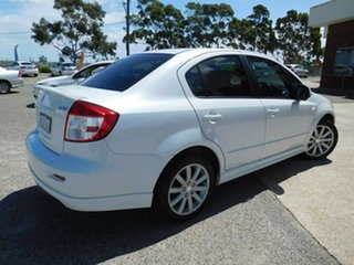 2012 Suzuki SX4 GYC MY10 S White 6 Speed Constant Variable Sedan