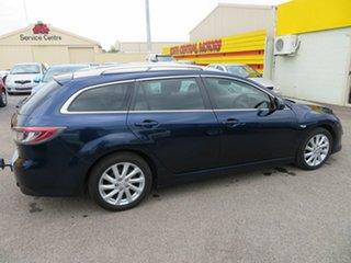 2010 Mazda 6 GH MY10 Diesel Blue 6 Speed Manual Wagon