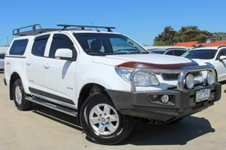 2013 Holden Colorado RG MY13 LT Crew Cab White 6 Speed Sports Automatic Utility