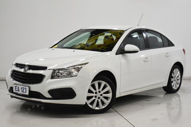 Used Holden Cruze JH Series II MY16 Equipe Brooklyn, 2016 Holden Cruze JH Series II MY16 Equipe White 6 Speed Sports Automatic Sedan