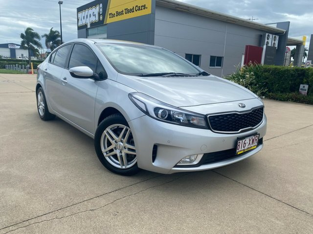 Used Kia Cerato YD MY17 S Townsville, 2017 Kia Cerato YD MY17 S Silver/290917 6 Speed Sports Automatic Sedan