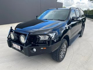 2018 Ford Ranger PX MkII 2018.00MY FX4 Double Cab Black 6 Speed Sports Automatic Utility