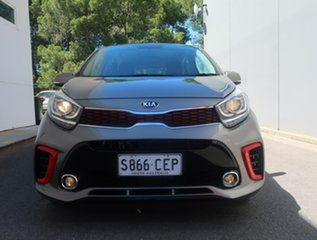 2019 Kia Picanto JA MY19 GT-Line Silver 4 Speed Automatic Hatchback