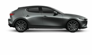 2021 Mazda 3 BP2H7A G20 SKYACTIV-Drive Touring Machine Grey 6 Speed Sports Automatic Hatchback.