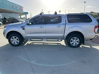 2014 Ford Ranger PX XLT Double Cab Silver 6 Speed Manual Utility