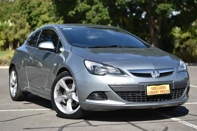 Used Holden Astra PJ MY15.5 GTC Enfield, 2015 Holden Astra PJ MY15.5 GTC Grey 6 Speed Automatic Hatchback