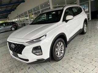 2018 Hyundai Santa Fe Active White Sports Automatic Wagon.