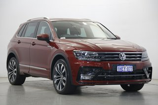 2018 Volkswagen Tiguan 5N MY18 162TSI DSG 4MOTION Highline Red 7 Speed Sports Automatic Dual Clutch