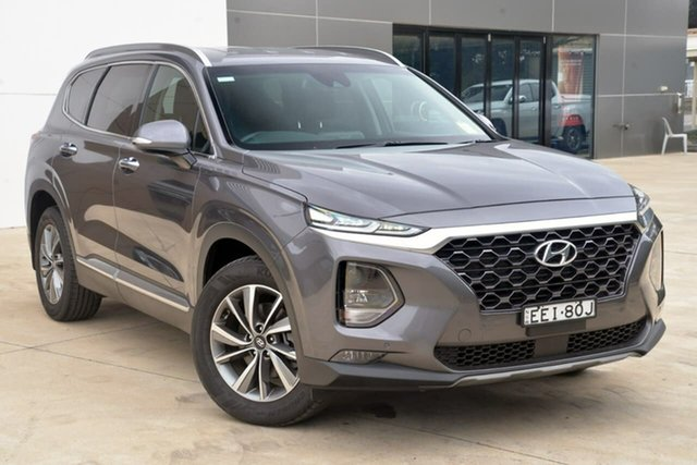 Used Hyundai Santa Fe TM.2 MY20 Elite Tuggerah, 2019 Hyundai Santa Fe TM.2 MY20 Elite Grey 8 Speed Sports Automatic Wagon