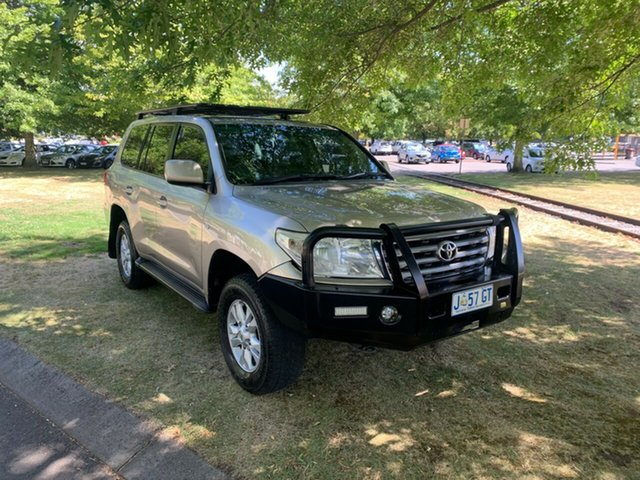 Used Toyota Landcruiser VDJ200R Sahara Launceston, 2007 Toyota Landcruiser VDJ200R Sahara Champagne 6 Speed Sports Automatic Wagon