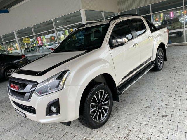 Used Isuzu D-MAX Taree, 2019 Isuzu D-MAX LS-T White Sports Automatic Dual Cab Utility