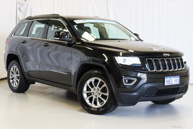 Used Jeep Grand Cherokee WK MY15 Laredo Wangara, 2015 Jeep Grand Cherokee WK MY15 Laredo Black 8 Speed Sports Automatic Wagon