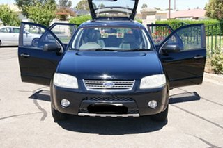 2004 Ford Territory SX Ghia (RWD) Black 4 Speed Auto Seq Sportshift Wagon