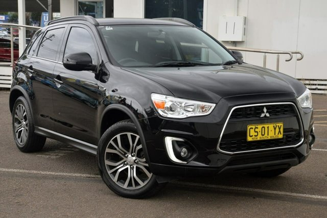 Used Mitsubishi ASX XB MY15.5 LS 2WD North Gosford, 2016 Mitsubishi ASX XB MY15.5 LS 2WD Black 6 Speed Constant Variable Wagon