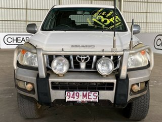 2006 Toyota Landcruiser Prado KZJ120R GXL White 5 Speed Manual Wagon