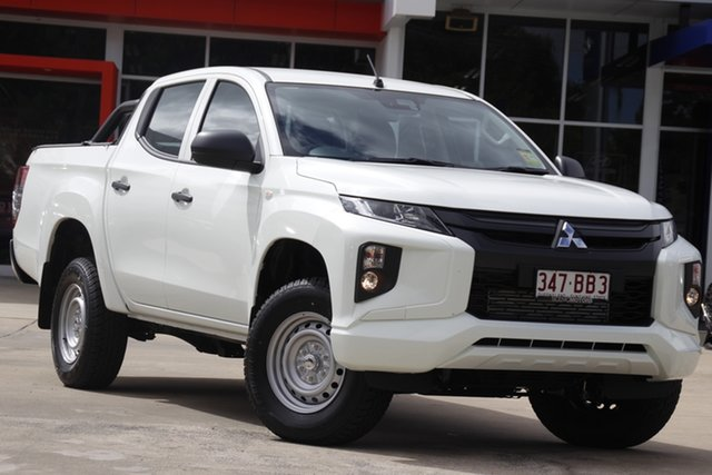 Demo Mitsubishi Triton MR MY21 GLX Double Cab ADAS Beaudesert, 2020 Mitsubishi Triton MR MY21 GLX Double Cab ADAS White 6 Speed Sports Automatic Utility