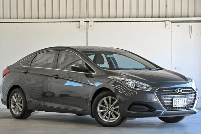 Used Hyundai i40 VF4 Series II Active D-CT Laverton North, 2016 Hyundai i40 VF4 Series II Active D-CT Grey 7 Speed Sports Automatic Dual Clutch Sedan
