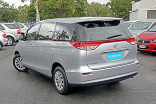 2016 Toyota Tarago ACR50R MY13 GLi Silver 7 Speed Constant Variable Wagon.