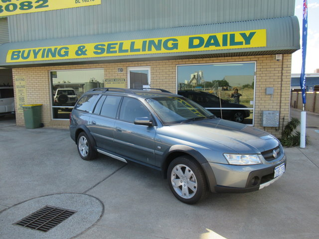 Used Holden Adventra VZ SX6 Mandurah, 2005 Holden Adventra VZ SX6 Silver 5 Speed Automatic Wagon