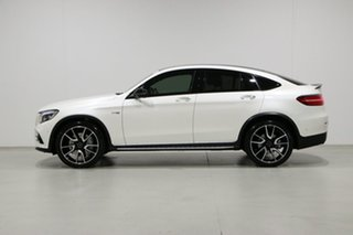 2018 Mercedes-Benz GLC-Class C253 808MY GLC43 AMG Coupe 9G-Tronic 4MATIC White 9 Speed
