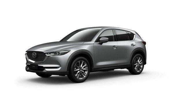 New Mazda CX-5 KF4WLA Akera SKYACTIV-Drive i-ACTIV AWD Toowoomba, 2020 Mazda CX-5 KF4WLA Akera SKYACTIV-Drive i-ACTIV AWD Sonic Silver 6 Speed Sports Automatic Wagon