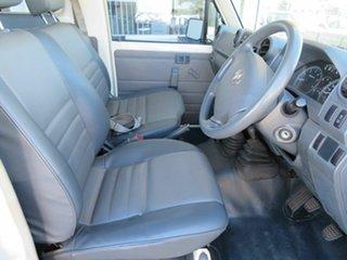 2010 Toyota Landcruiser VDJ78R 09 Upgrade Workmate (4x4) 11 Seat White 5 Speed Manual TroopCarrier
