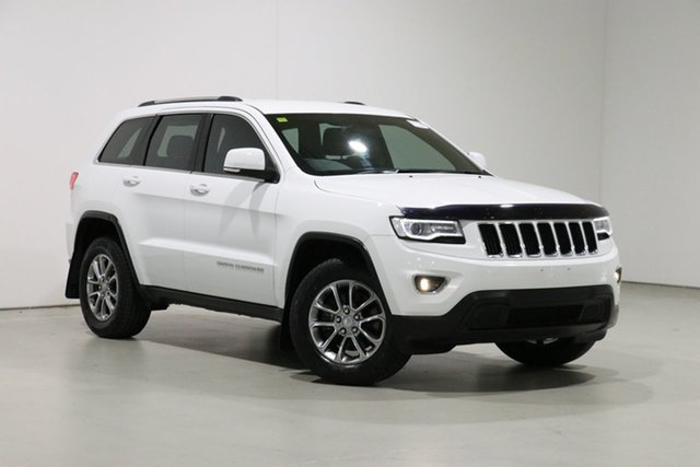 Used Jeep Grand Cherokee WK MY15 Laredo (4x4) Bentley, 2016 Jeep Grand Cherokee WK MY15 Laredo (4x4) White 8 Speed Automatic Wagon