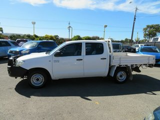 2010 Toyota Hilux KUN16R 09 Upgrade SR White 5 Speed Manual Dual Cab Pick-up
