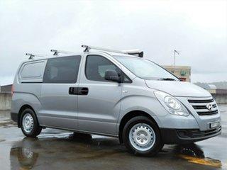 2016 Hyundai iLOAD TQ3-V Series II MY17 Crew Cab Grey 6 Speed Manual Van.