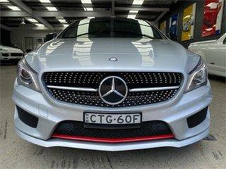 2014 Mercedes-Benz CLA-Class C117 CLA250 Sport Silver Sports Automatic Dual Clutch Coupe.