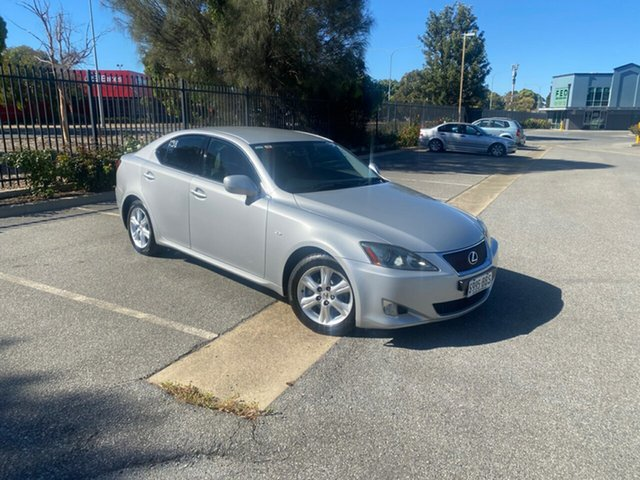 Used Lexus IS GSE20R IS250 Prestige Mile End, 2005 Lexus IS GSE20R IS250 Prestige Silver 6 Speed Sports Automatic Sedan