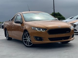 2014 Ford Falcon FG X XR6 Ute Super Cab Turbo Orange 6 Speed Manual Utility.