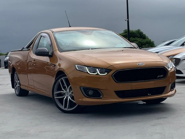 Used Ford Falcon FG X XR6 Ute Super Cab Turbo Liverpool, 2014 Ford Falcon FG X XR6 Ute Super Cab Turbo Orange 6 Speed Manual Utility