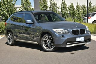 2010 BMW X1 E84 xDrive20d Steptronic Grey 6 Speed Sports Automatic Wagon.
