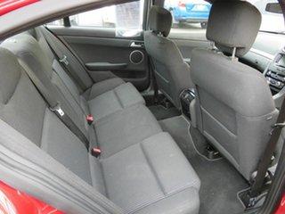 2010 Holden Commodore VE II SV6 Red 6 Speed Automatic Sedan