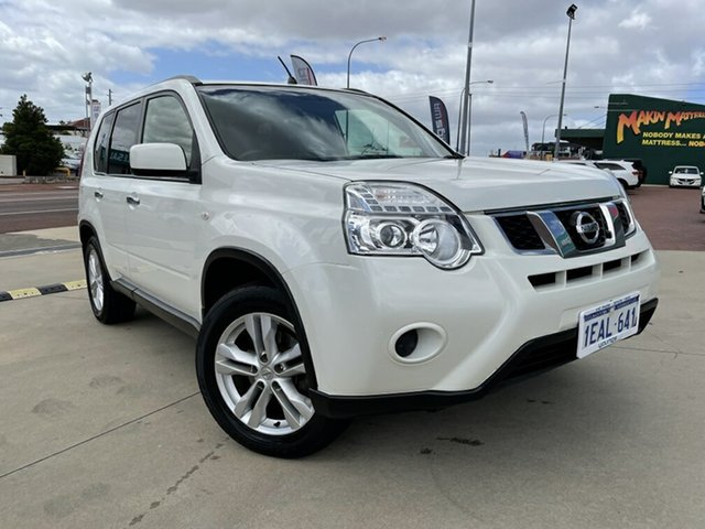 Used Nissan X-Trail T31 Series 5 ST (4x4) Victoria Park, 2012 Nissan X-Trail T31 Series 5 ST (4x4) White 6 Speed CVT Auto Sequential Wagon