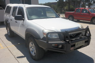 2010 Mazda BT-50 UNY0E4 DX White 5 Speed Manual Utility.