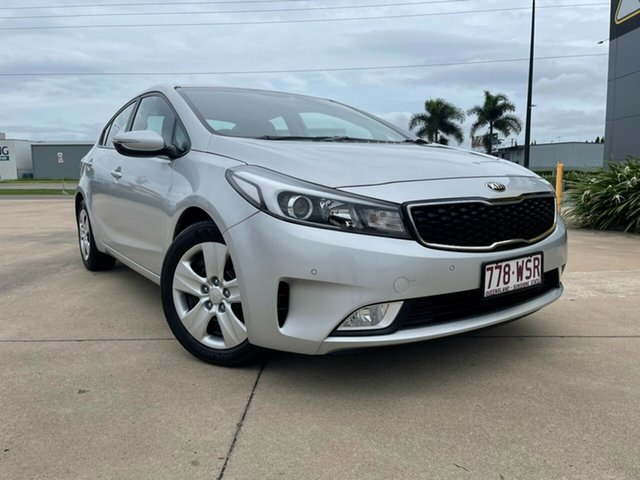 Used Kia Cerato YD MY17 S Townsville, 2016 Kia Cerato YD MY17 S Silver 6 Speed Sports Automatic Sedan