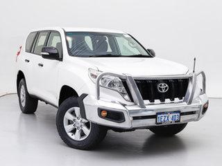 2016 Toyota Landcruiser Prado GDJ150R MY16 GX (4x4) White 6 Speed Automatic Wagon.