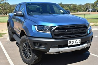 2020 Ford Ranger PX MkIII 2020.75MY Raptor Performance Blue 10 Speed Sports Automatic.