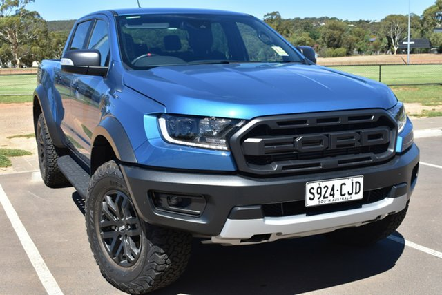 Demo Ford Ranger PX MkIII 2020.75MY Raptor St Marys, 2020 Ford Ranger PX MkIII 2020.75MY Raptor Performance Blue 10 Speed Sports Automatic