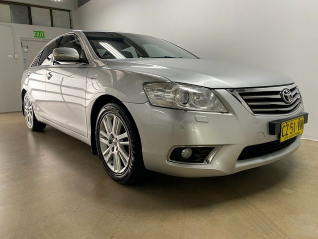 Used Toyota Aurion GSV40R 09 Upgrade Presara Phillip, 2011 Toyota Aurion GSV40R 09 Upgrade Presara Silver 6 Speed Auto Sequential Sedan