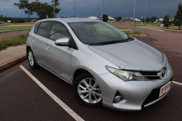 Pre-Owned Toyota Corolla ZRE182R Ascent Sport S-CVT Palmerston, 2013 Toyota Corolla ZRE182R Ascent Sport S-CVT Silver Pearl 7 Speed Automatic Hatchback