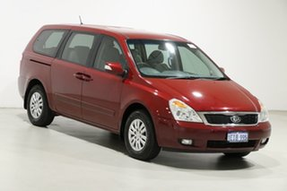2013 Kia Grand Carnival VQ MY13 S Red 6 Speed Automatic Wagon