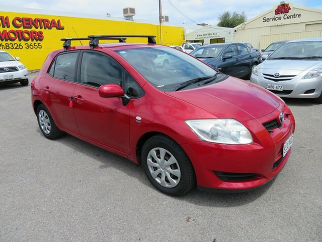 Used Toyota Corolla ZRE152R Ascent Morphett Vale, 2009 Toyota Corolla ZRE152R Ascent Red 6 Speed Manual Hatchback