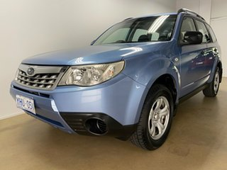 2011 Subaru Forester MY11 X Blue 5 Speed Manual Wagon