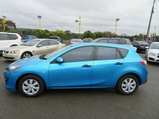 2010 Mazda 3 BL 10 Upgrade Neo Blue 5 Speed Automatic Hatchback