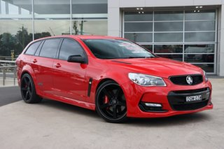 2017 Holden Commodore VF II MY17 SS V Sportwagon Redline Red Hot 6 Speed Sports Automatic Wagon.