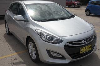 2013 Hyundai i30 GD2 MY14 Trophy Silver 6 Speed Sports Automatic Hatchback.