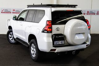 2019 Toyota Landcruiser Prado GDJ150R GXL Glacier White 6 Speed Sports Automatic Wagon